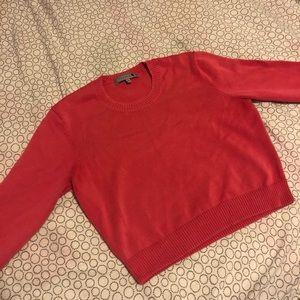 Talula Knit Pink Cropped Longsleeve